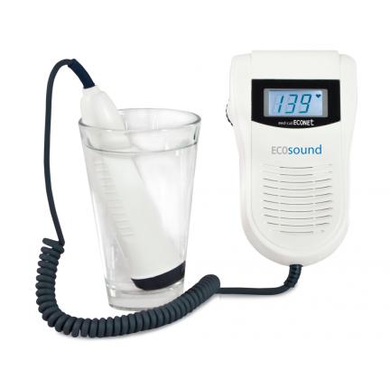 DOPPLER FOETAL AVEC ÉCRAN LCD ECOSOUND Waterproof