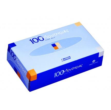 BOÎTE DISTRIBUTRICE de 100 MOUCHOIRS