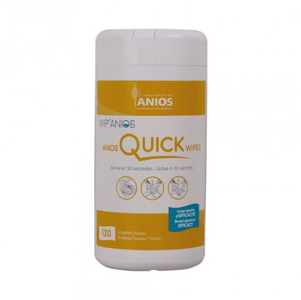 LINGETTES ANIOS QUICK WIPES