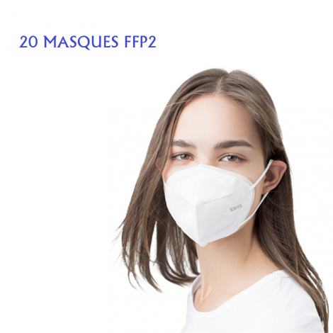 MASQUES FFP2 Boîte de 20