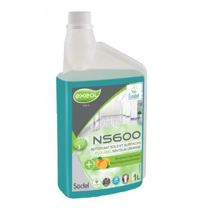 NETTOYANT SOLS ET SURFACES NS600
