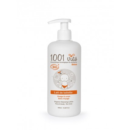 LAIT DE TOILETTE 400 ML POMPE